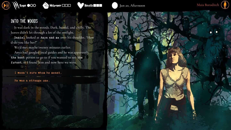 Werewolf The Apocalypse – Heart of the Forest сценарий игры