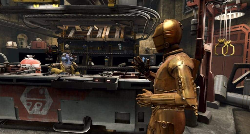 Star Wars: Tales from the Galaxy's Edge графика игры
