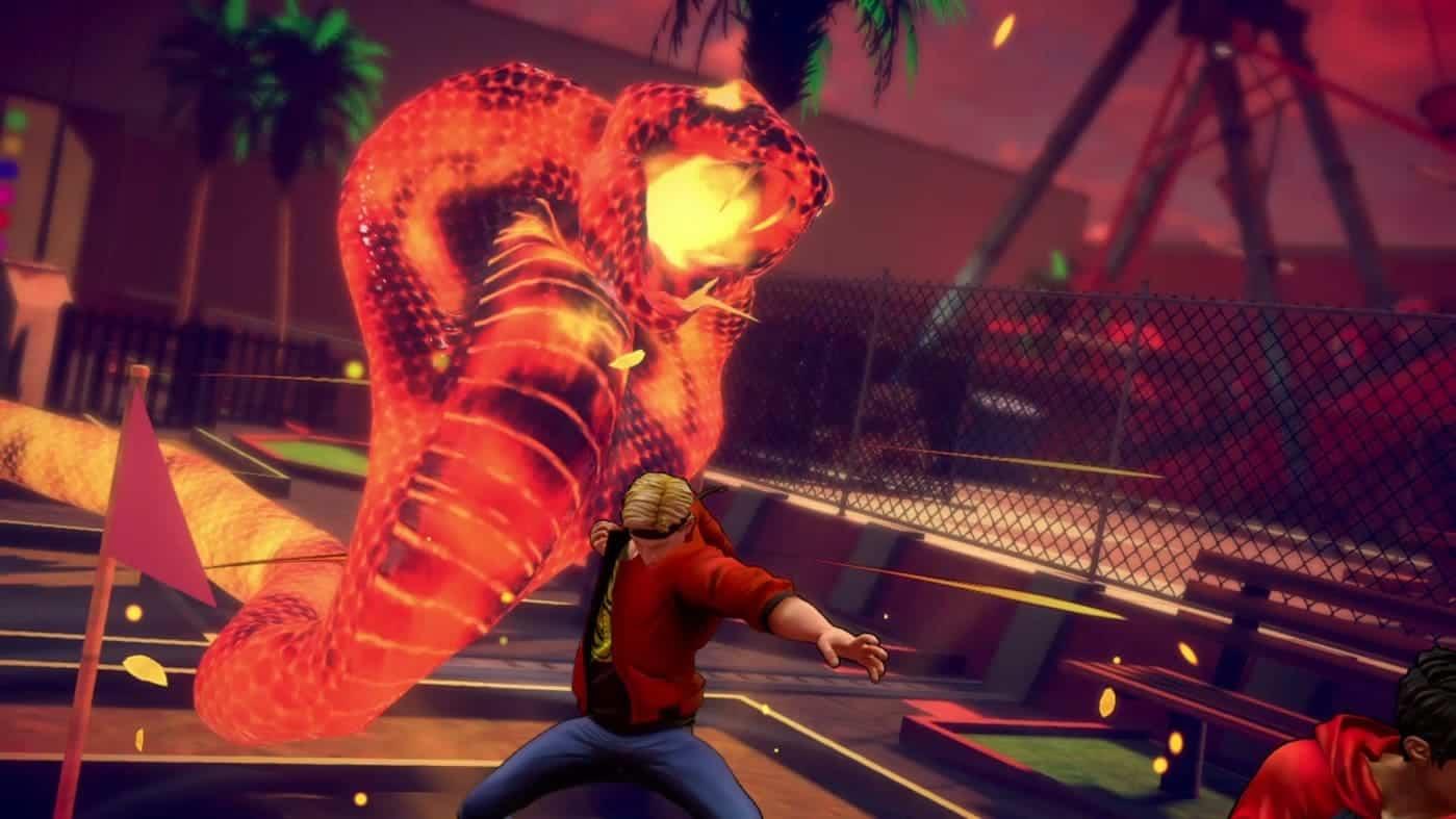 Cobra Kai: The Karate Kid Saga Continues боевая система