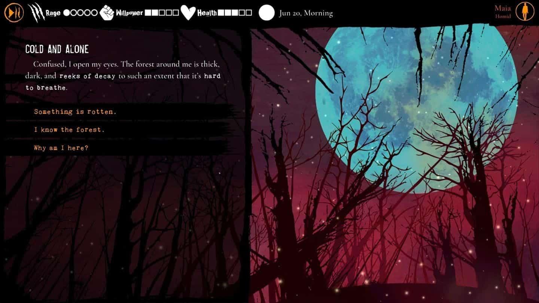 Werewolf The Apocalypse – Heart of the Forest графика игры