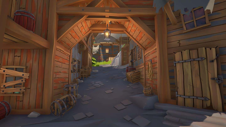 Blazing Sails: Pirate Battle Royale освещение в игре
