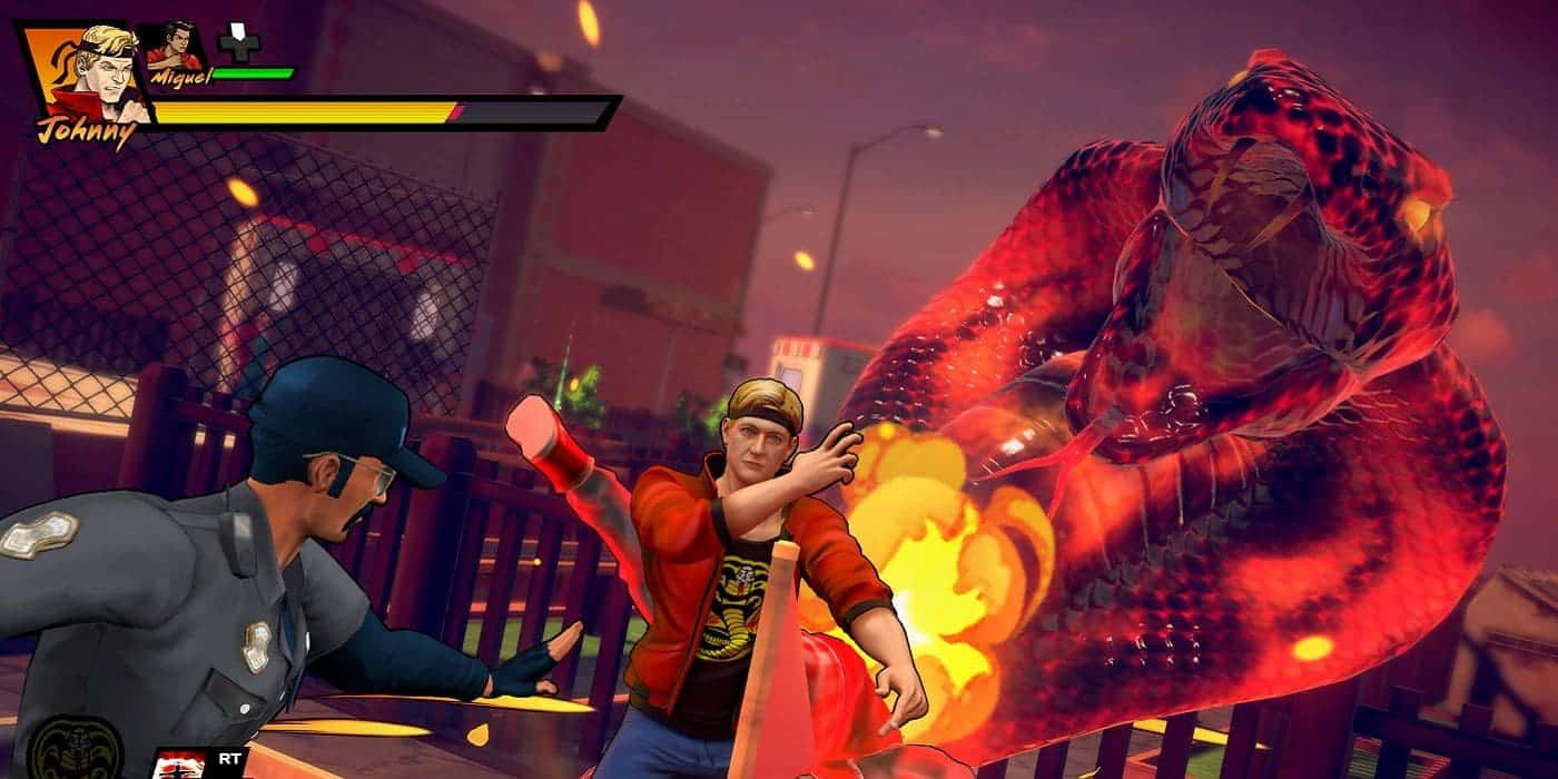 Cobra Kai: The Karate Kid Saga Continues техническая реализация