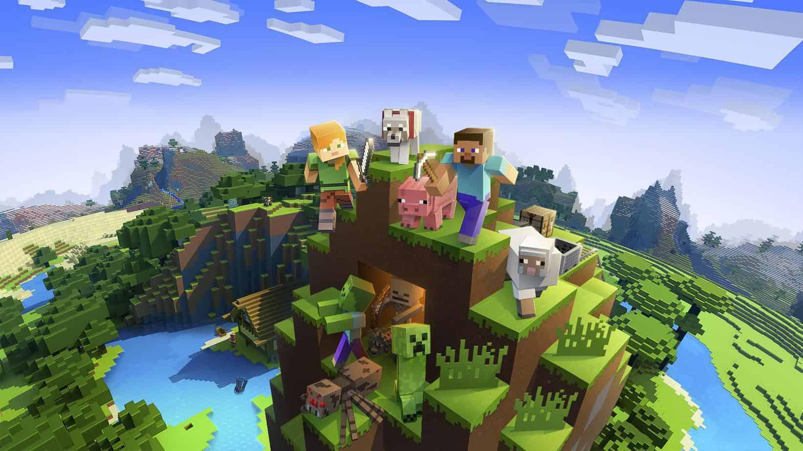 Minecraft обзор игры