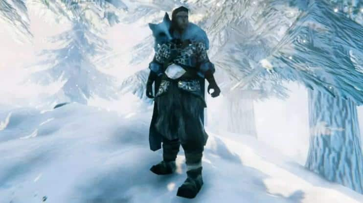 Волчья броня Valheim