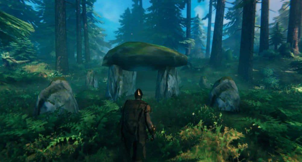 Локации черного леса Valheim
