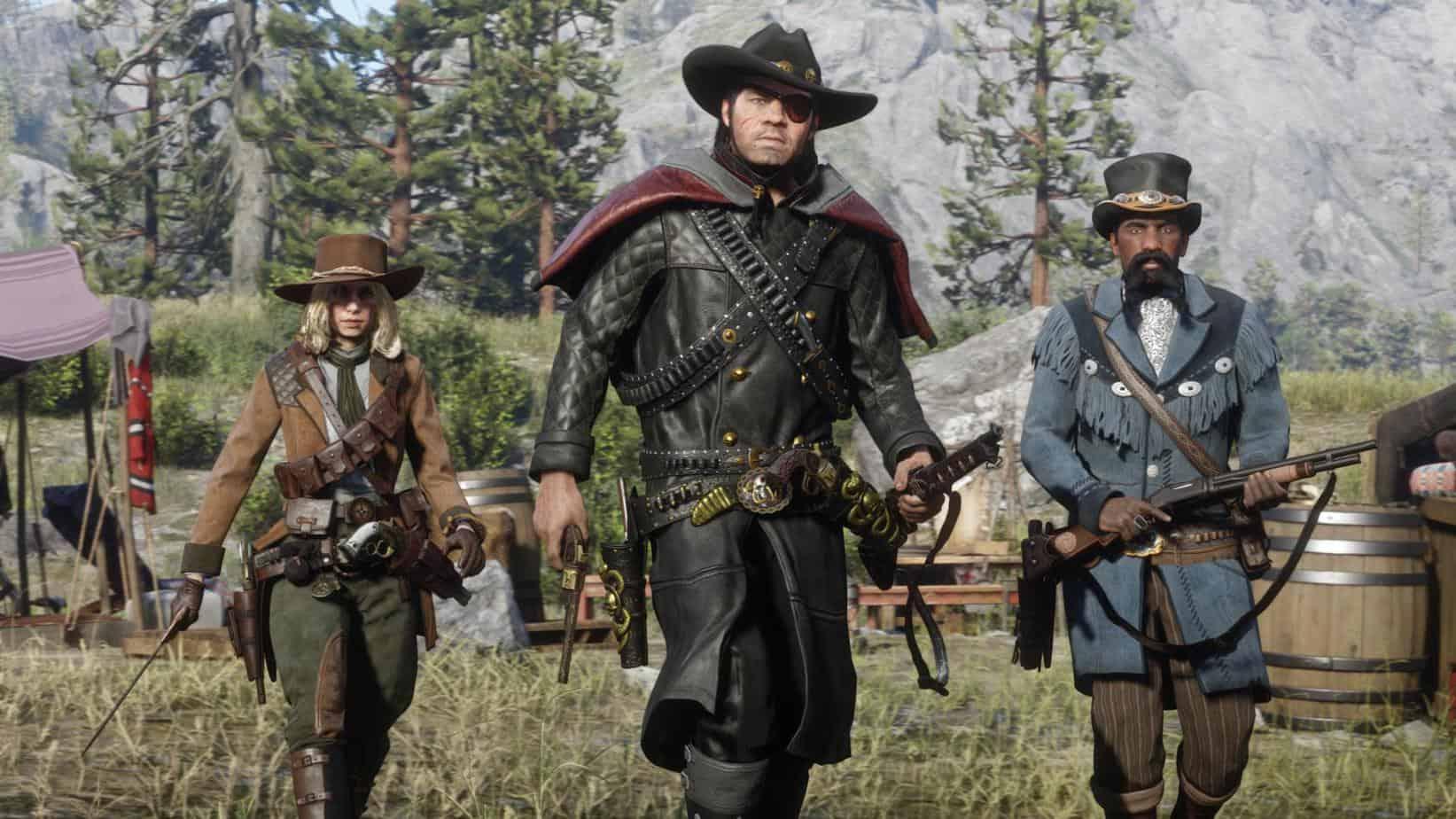 Red Dead Redemption Online особенности игры