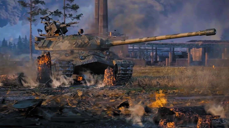 World of Tanks геймплей игры