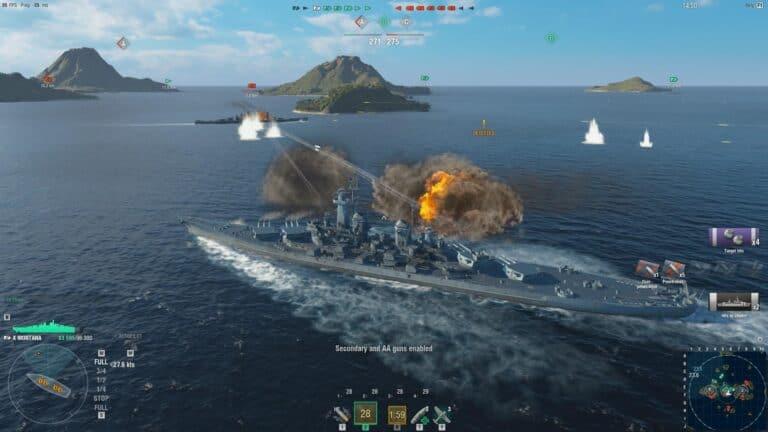 Обзор World of Warships – «Эти корабли не тонут»
