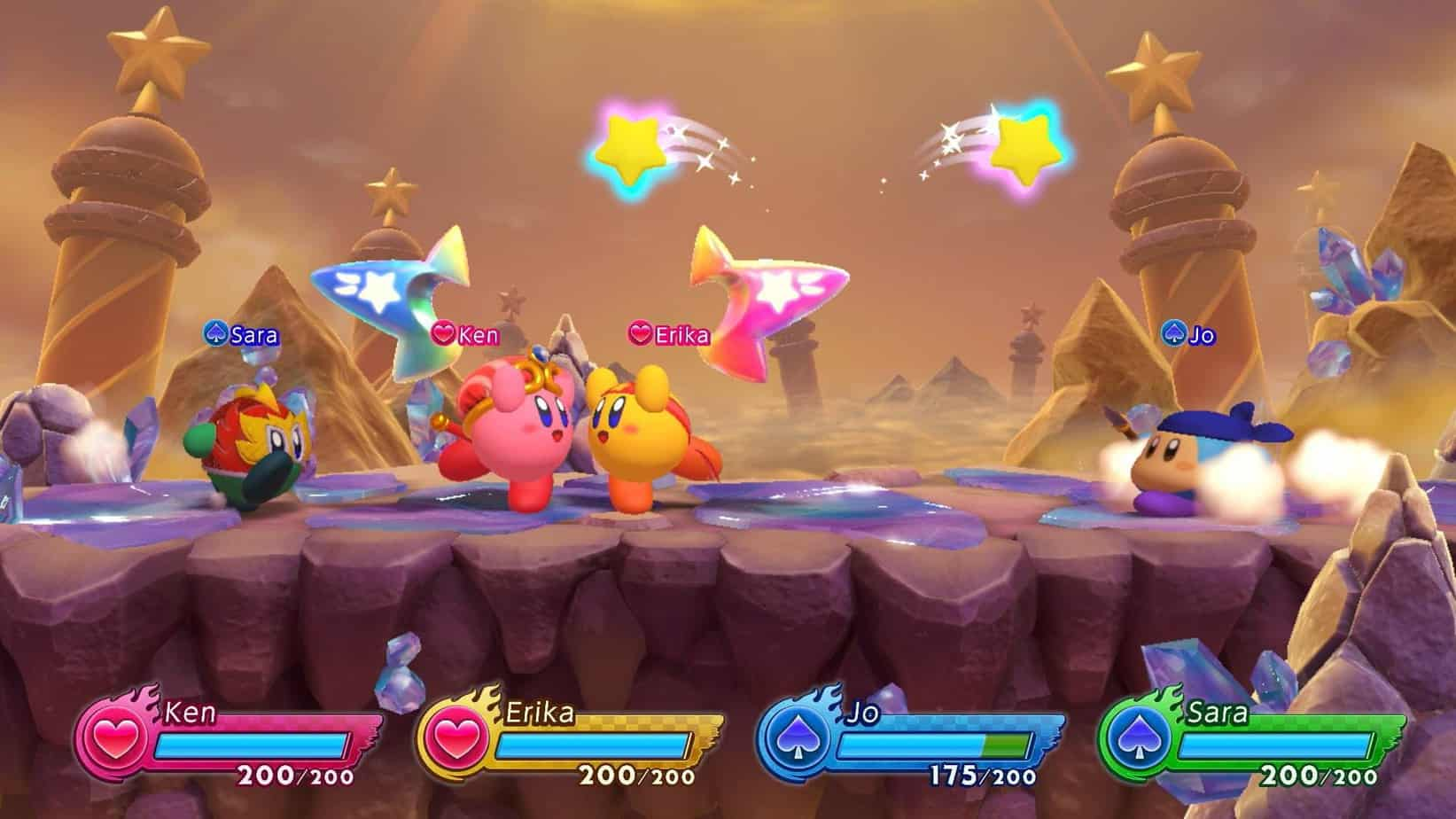 Kirby Fighters 2 сюжетная линия