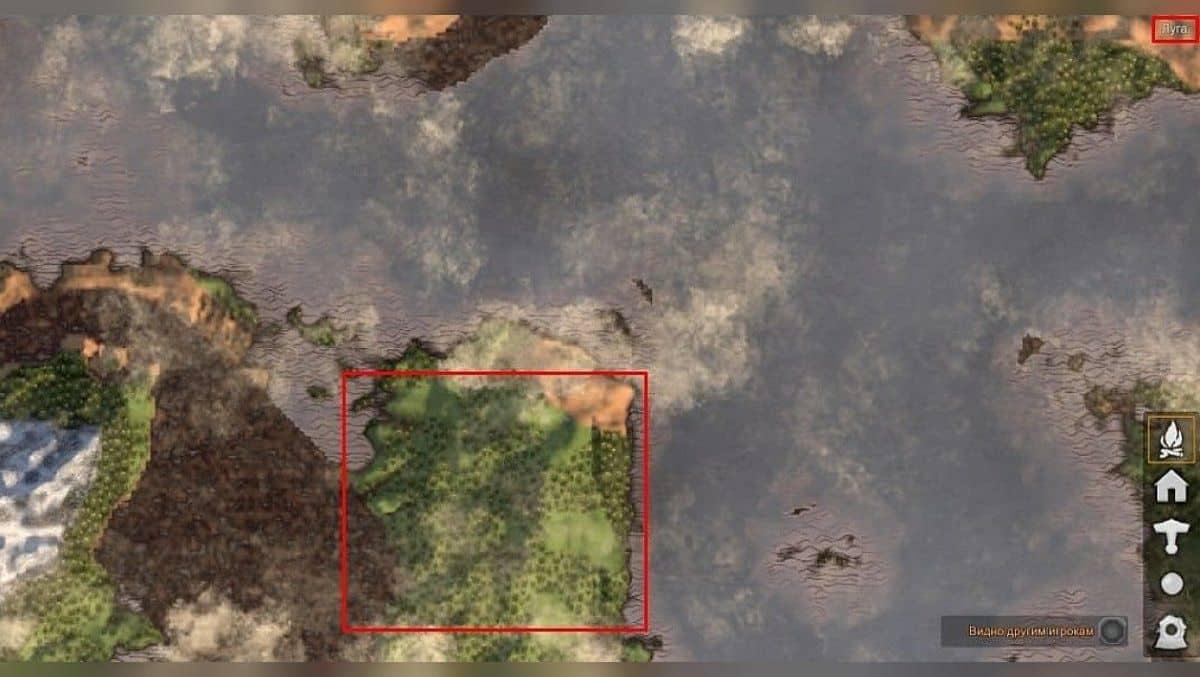 Биом черный лес Valheim как найти