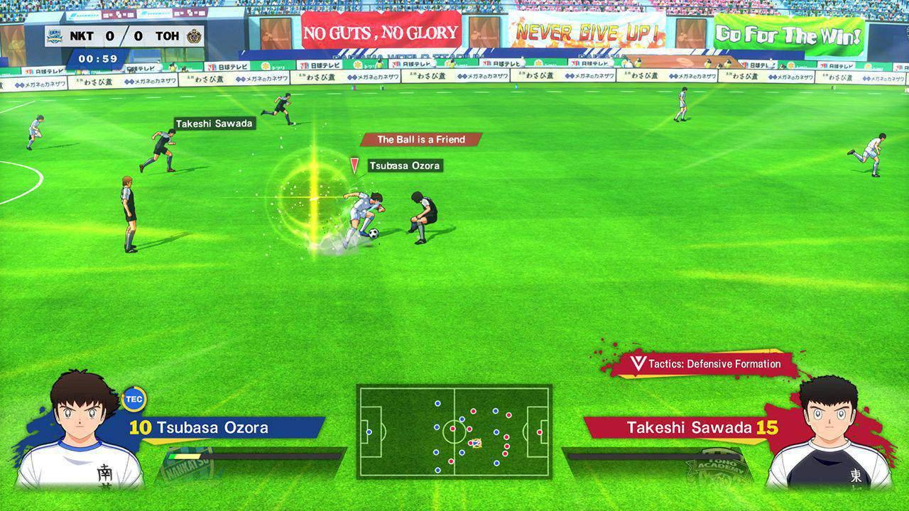 Captain Tsubasa: Rise of New Champions игровой процесс
