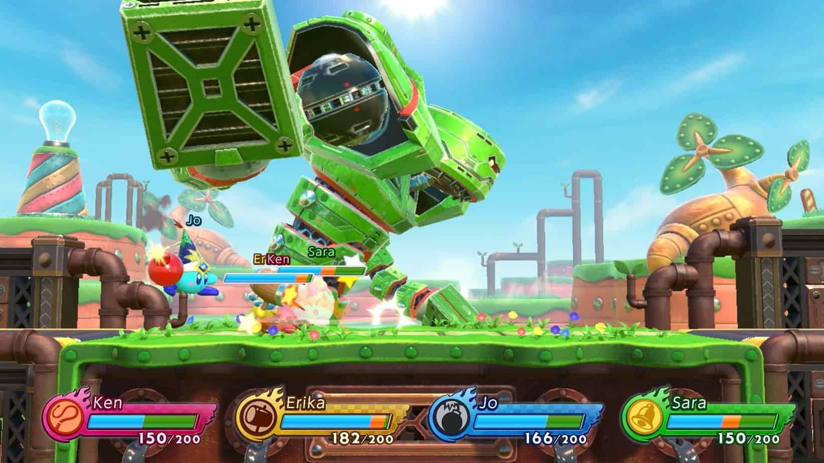 Kirby Fighters 2 концепция игры