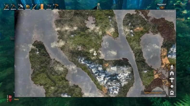 Биомы на карте Valheim
