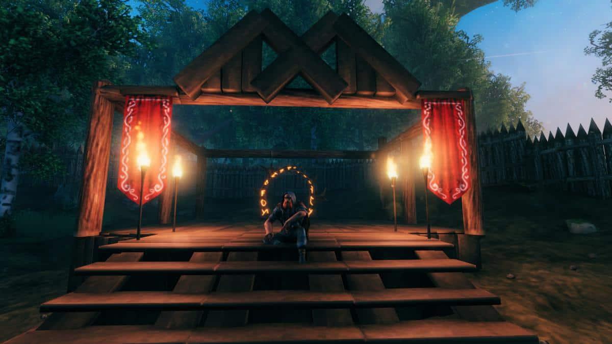 Как создать портал Valheim