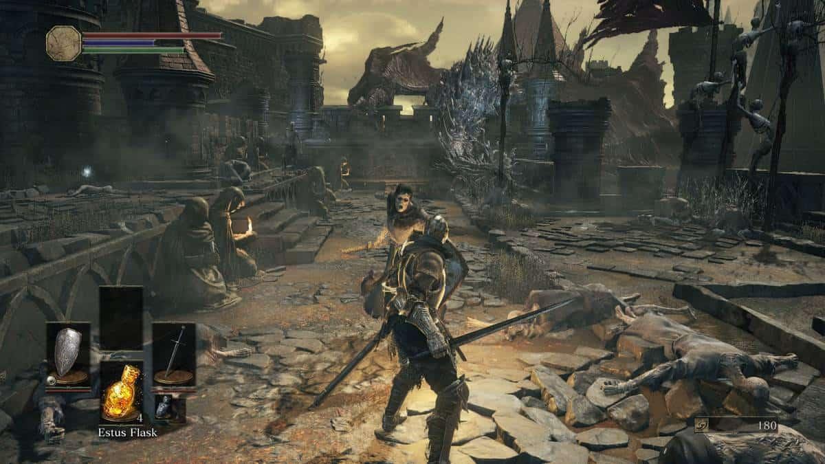 Dark Souls III боевая система
