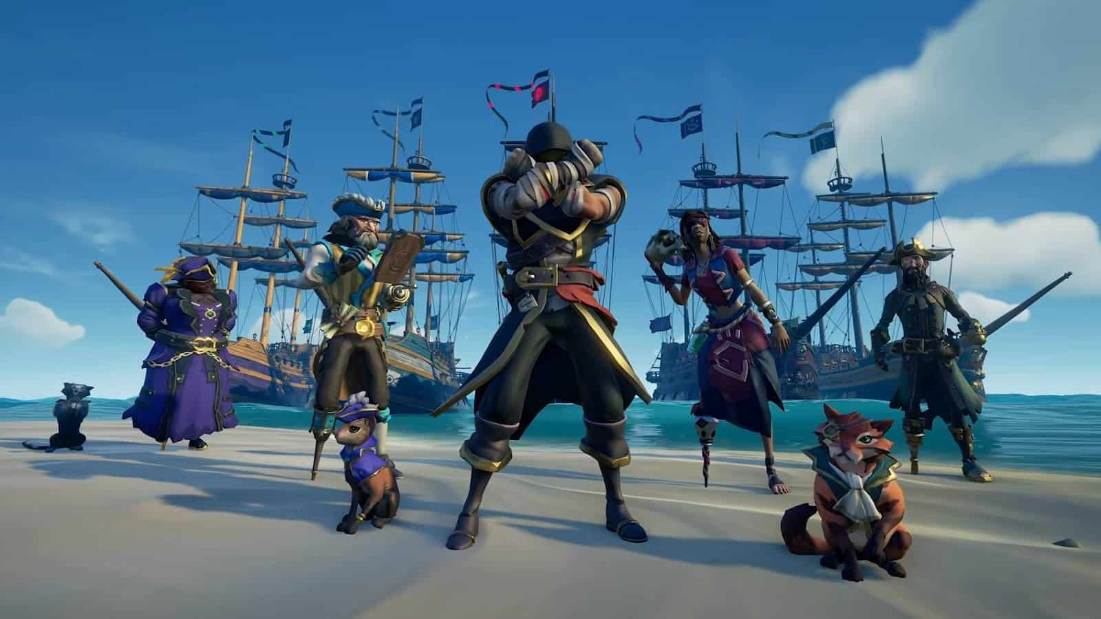Sea of Thieves игровая механика