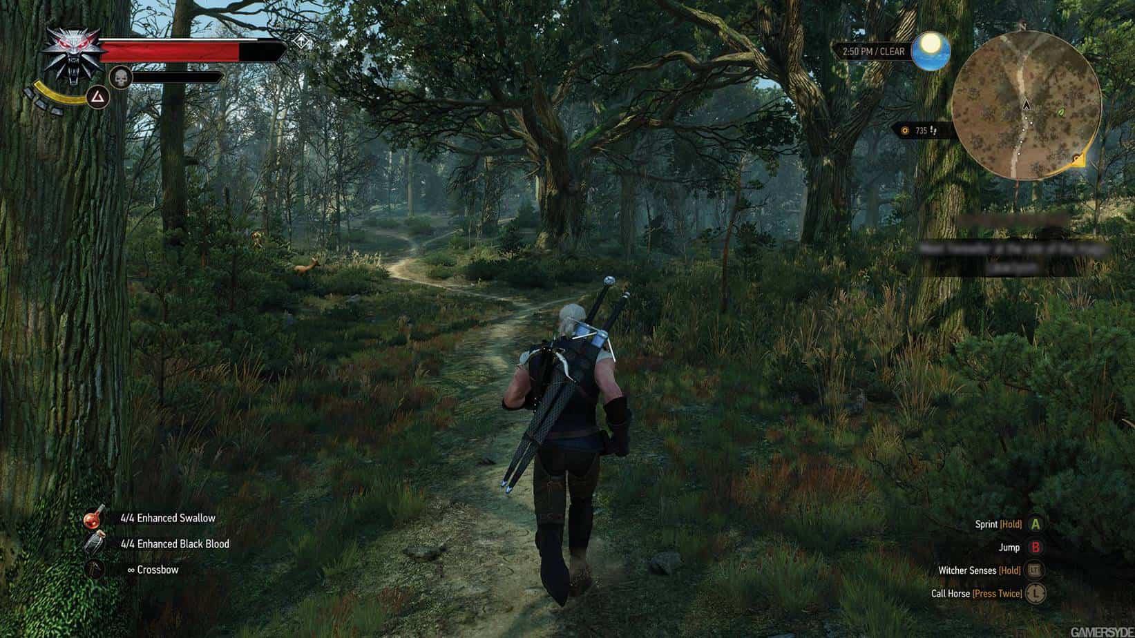 The Witcher 3: Wild Hunt игровой процесс