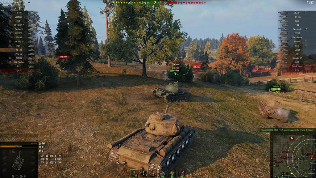 World of Tanks особенности симулятора