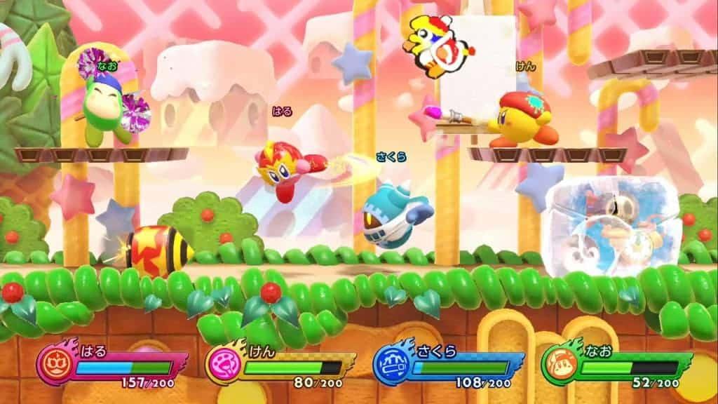 Kirby Fighters 2 режимы игры