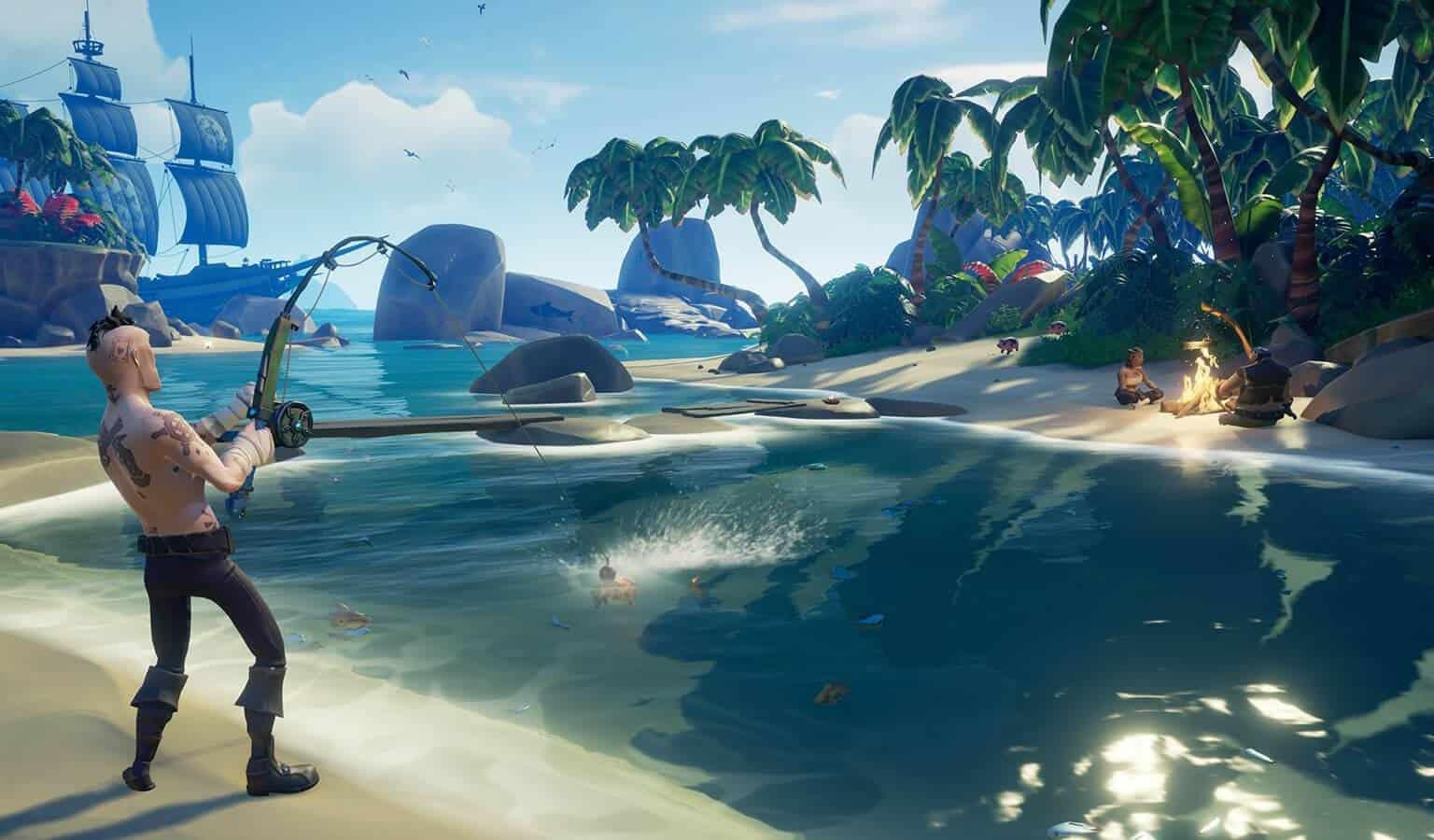 Sea of Thieves геймплей и новые судна