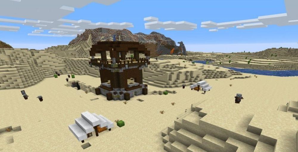 Minecraft постройки в игре