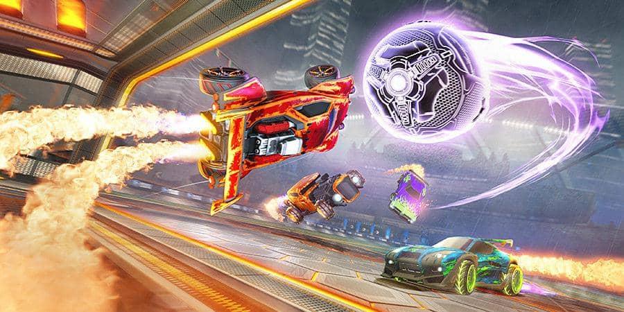 Rocket League типы матчей в игре