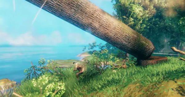 Valheim посадить дерево