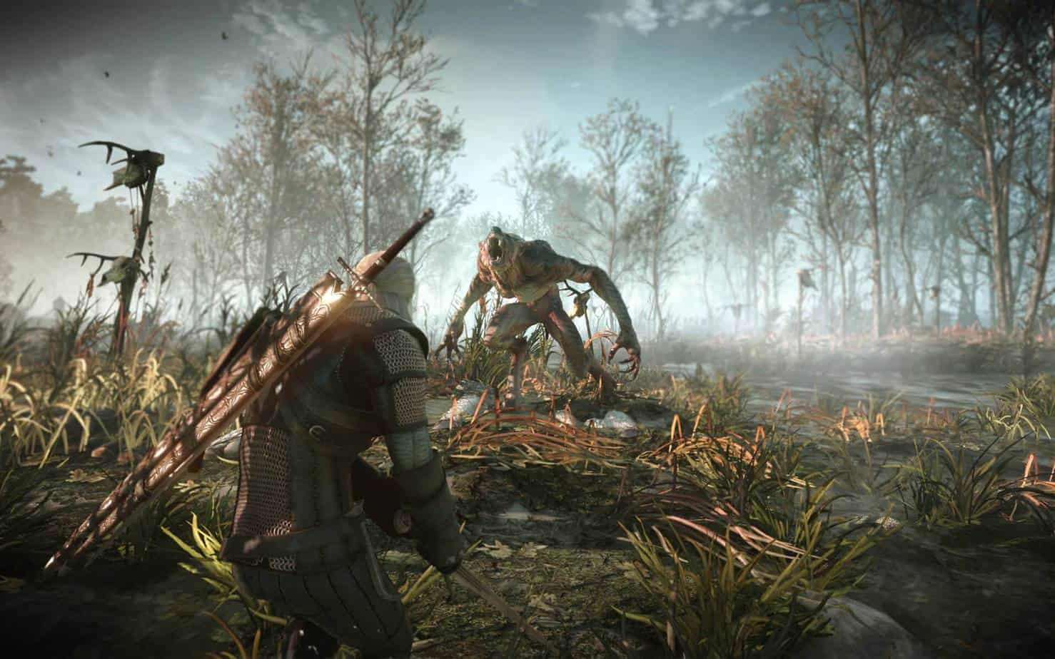 The Witcher 3: Wild Hunt графика