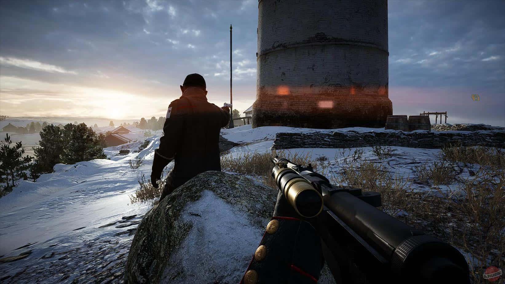 Battlefield 1 механика стрельбы