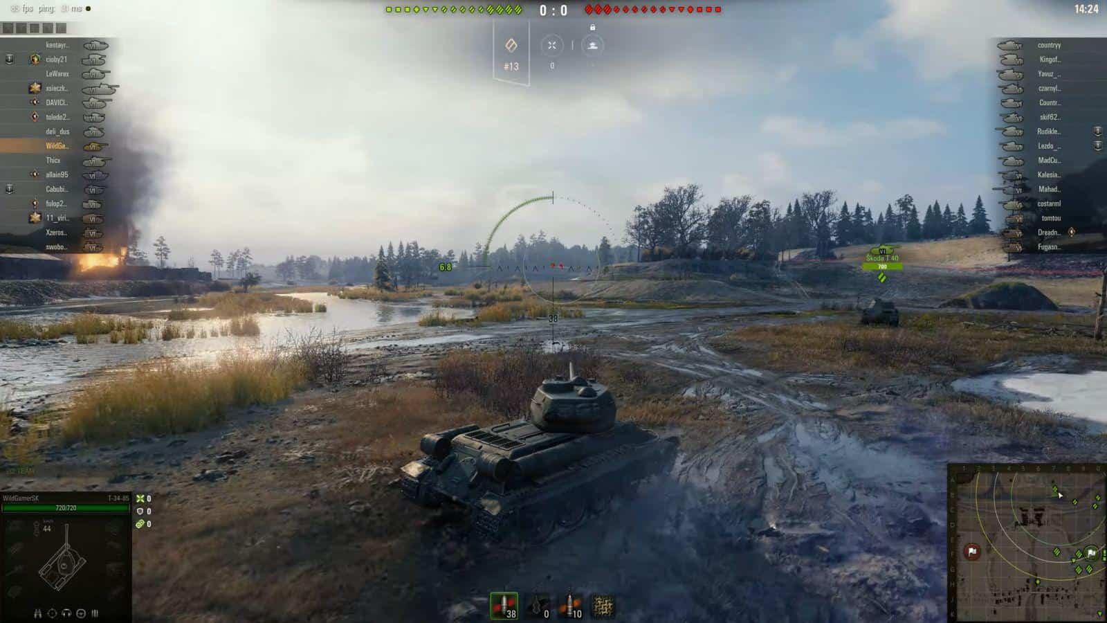 World of Tanks тактические войны