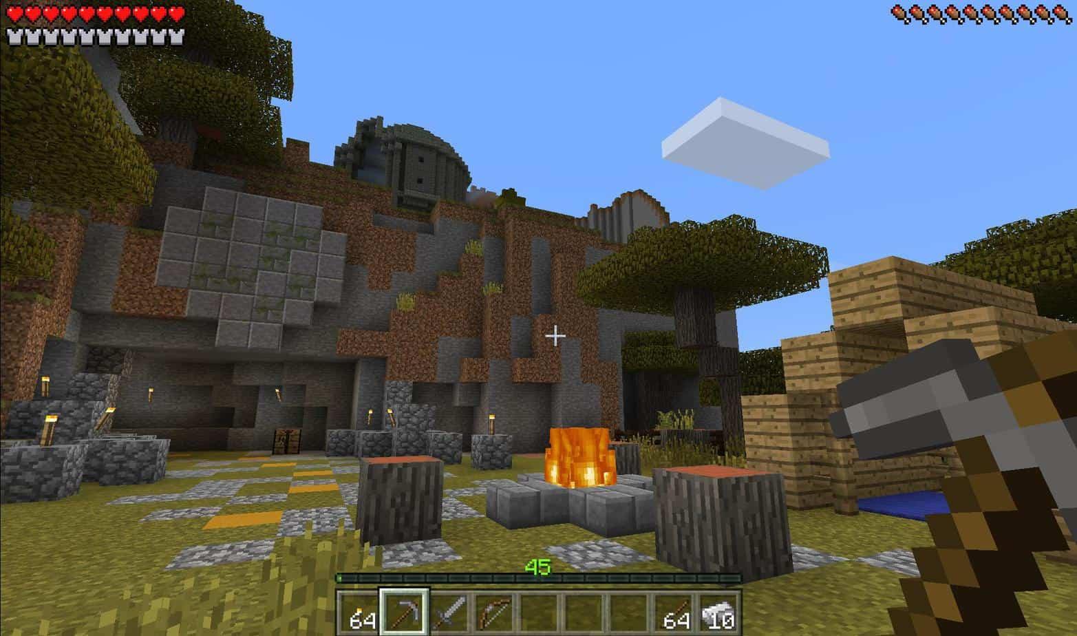 Minecraft свобода действий игрока