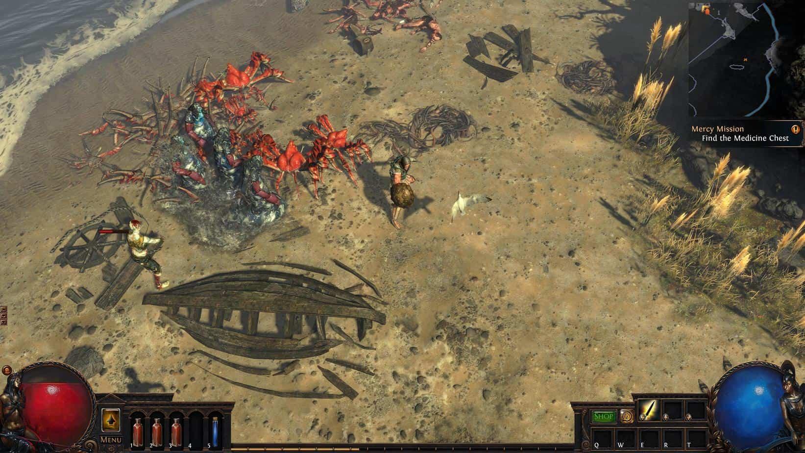 Path of Exile модель распространения игры