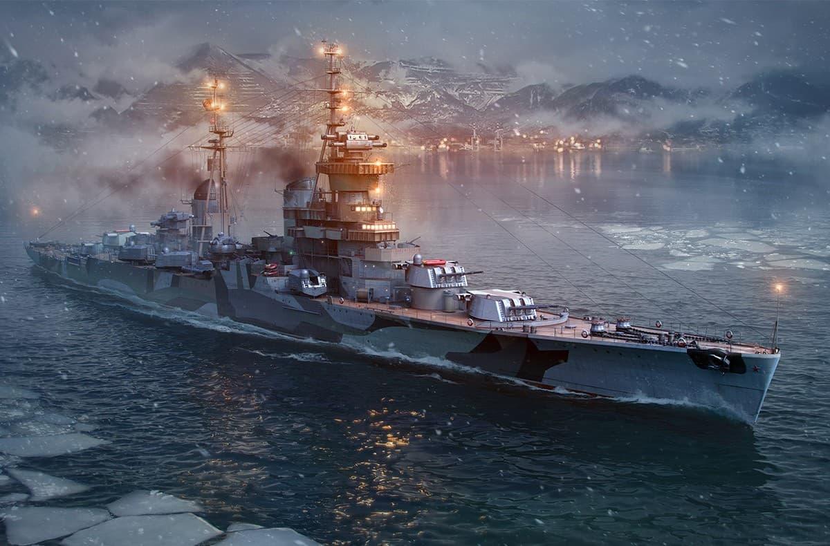World of Warships графика игры