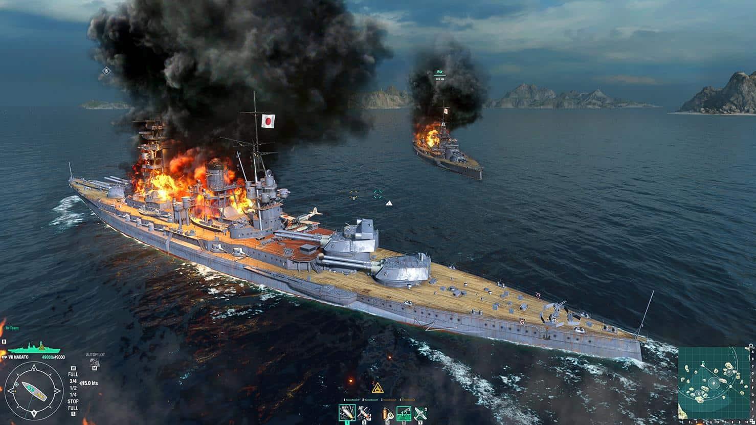 World of Warships события в игре