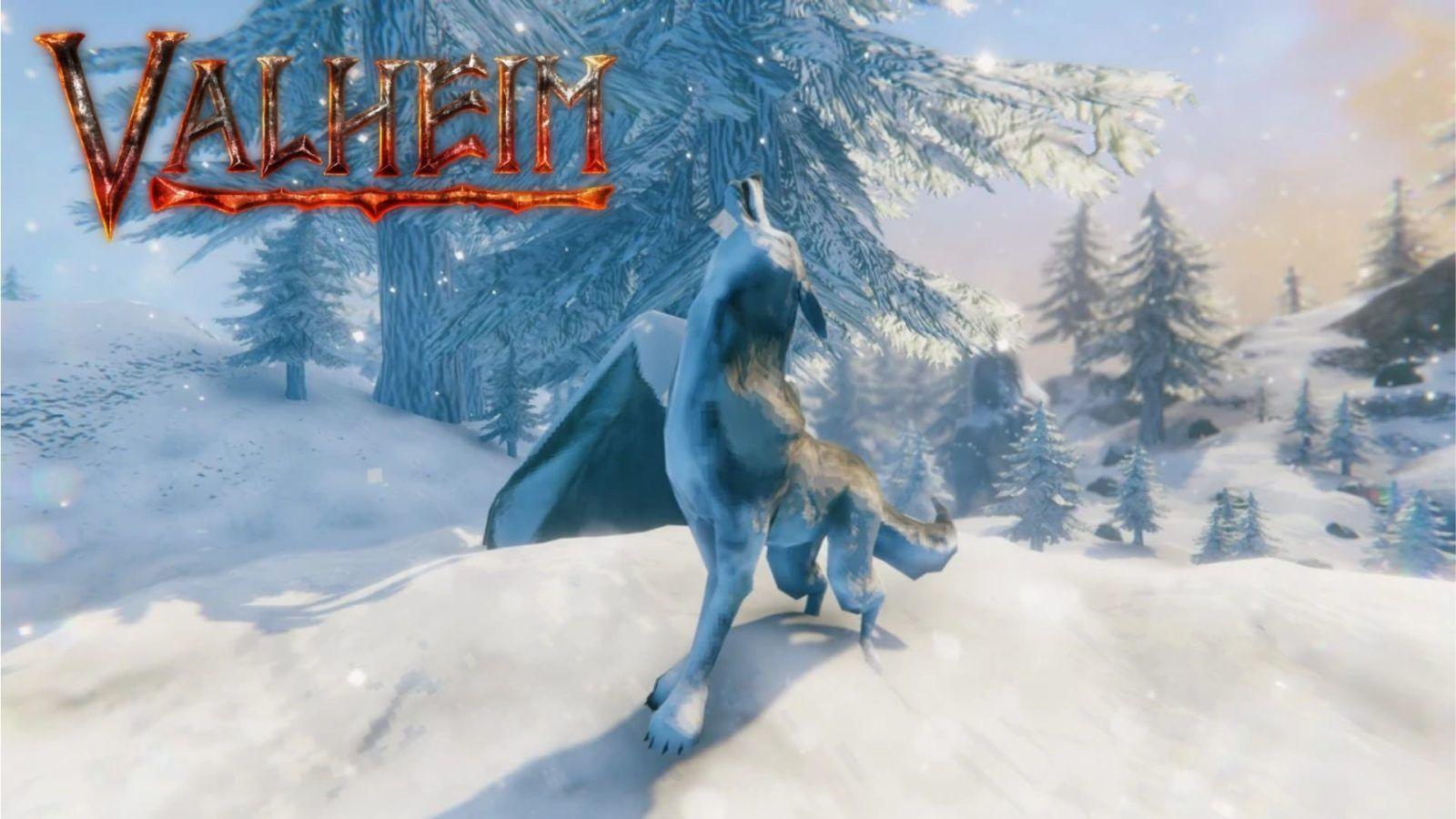 Волк в игре Вальхейм