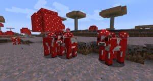 Грибная корова Minecraft гайд