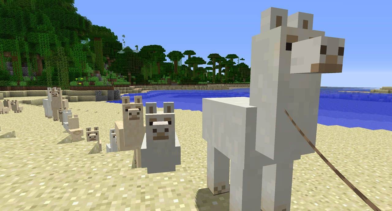 Как приручить ламу в Майнкрафт