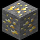 Золотая руда Майнкрафт