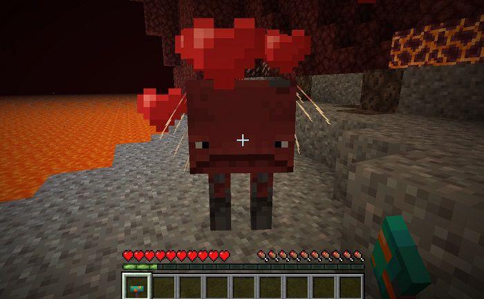 Как разводить страйдеров в Minecraft