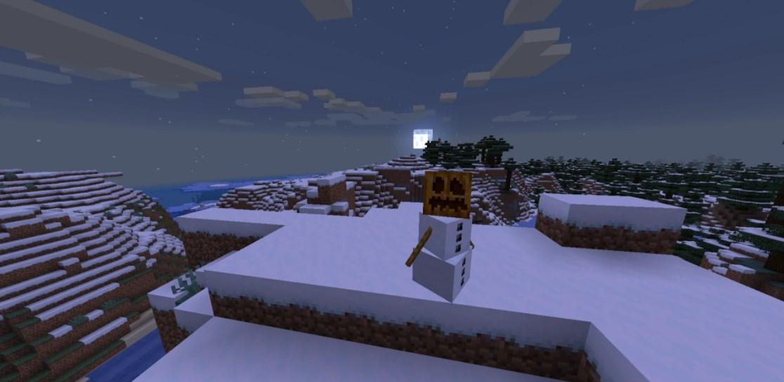 Снежный голем Майнкрафт советы