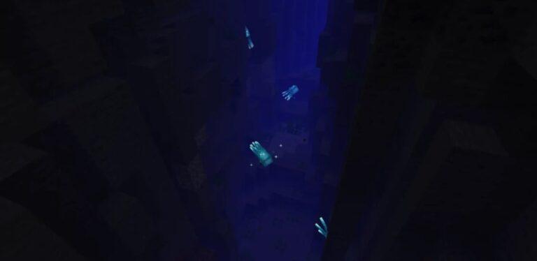 Светящийся спрут Майнкрафт: гайд