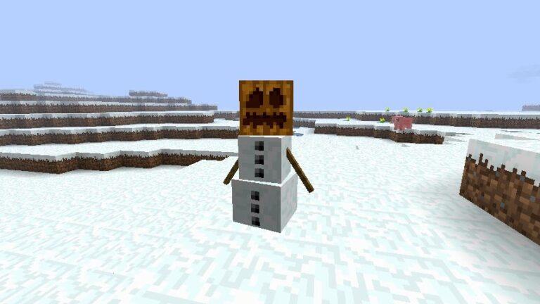 Снежный голем Майнкрафт: подробный гайд