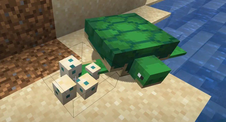 Черепаха Майнкрафт секреты