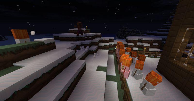 Как убить снежного голема Майнкрафт