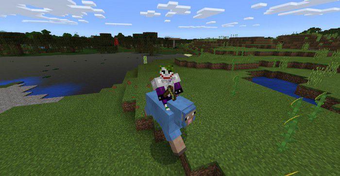 Как приручить овцу Майнкрафт