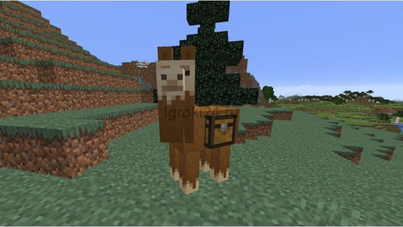 Сундуки на ламе Minecraft