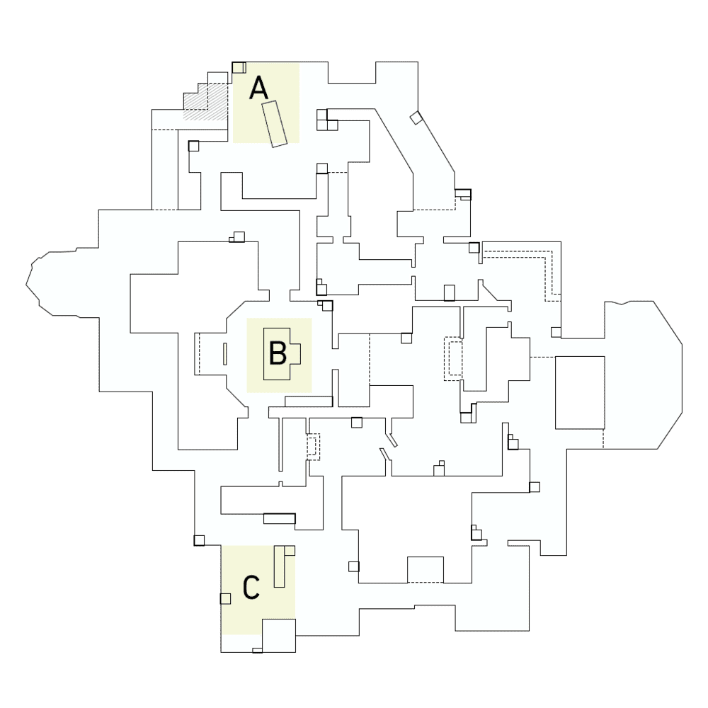 Карта Haven Valorant рейтинговая - схема