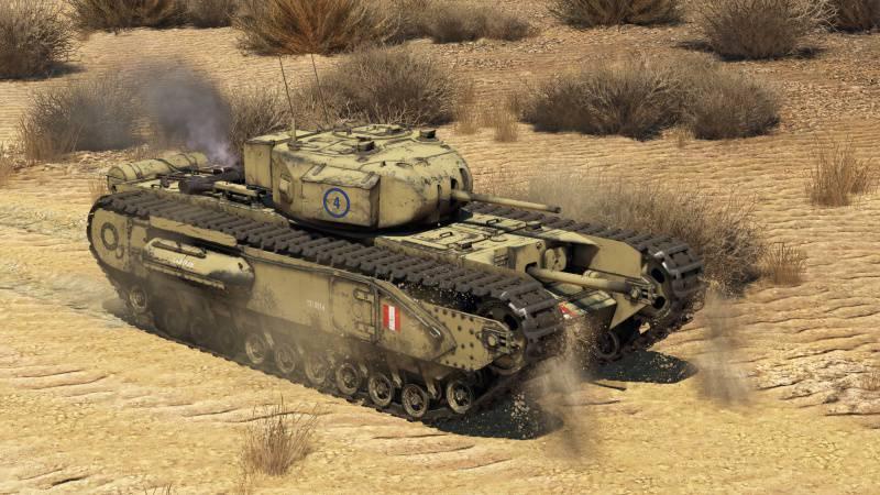 Churchill 1 War Thunder