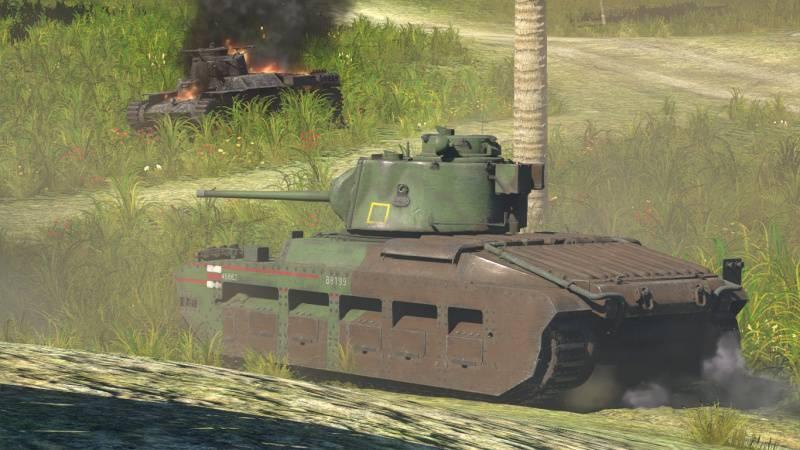 Matilda_III War Thunder