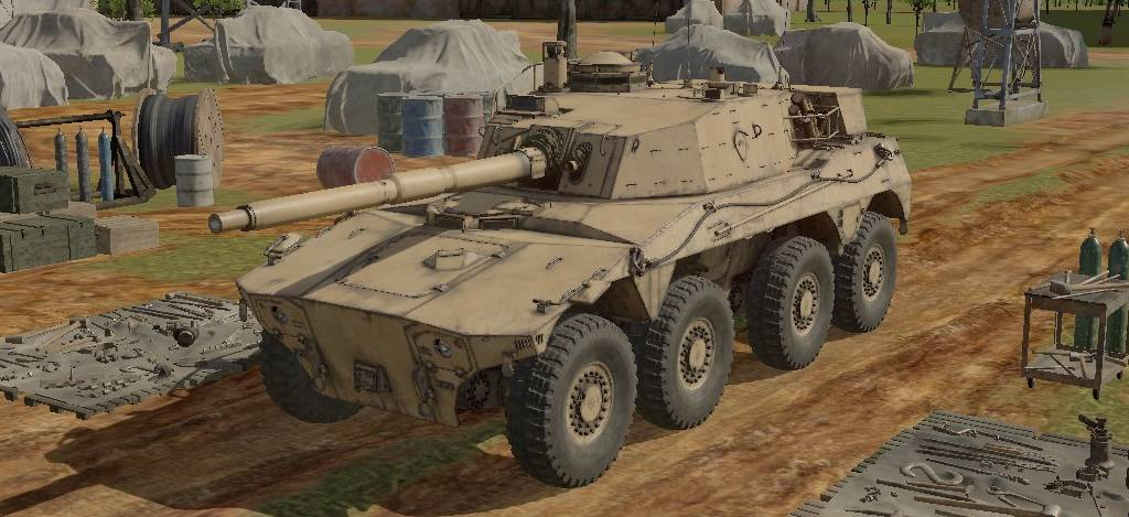 Rooikat MK1D War Thunder